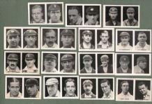 TRADE/ cigarette cards set Favourite Cricketers Series, 1922  by Young Britain